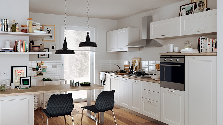 Smart kitchen is perfect for the busy urban life 12 Exquisite Small Kitchen Designs With Italian Style