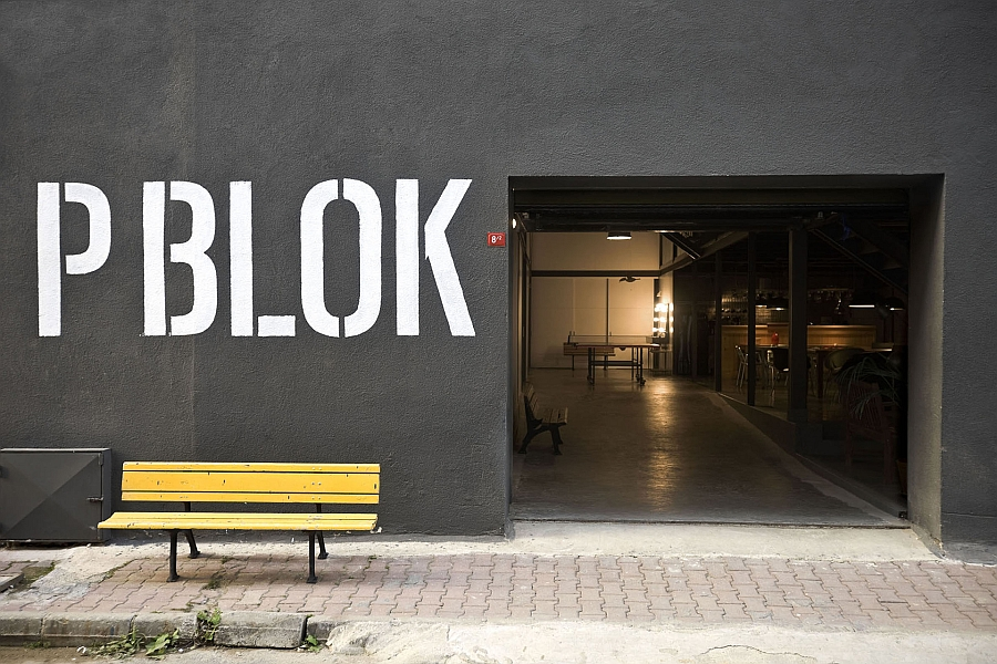 Smart renovation uses paint to transform an old warehouse into industrial office space