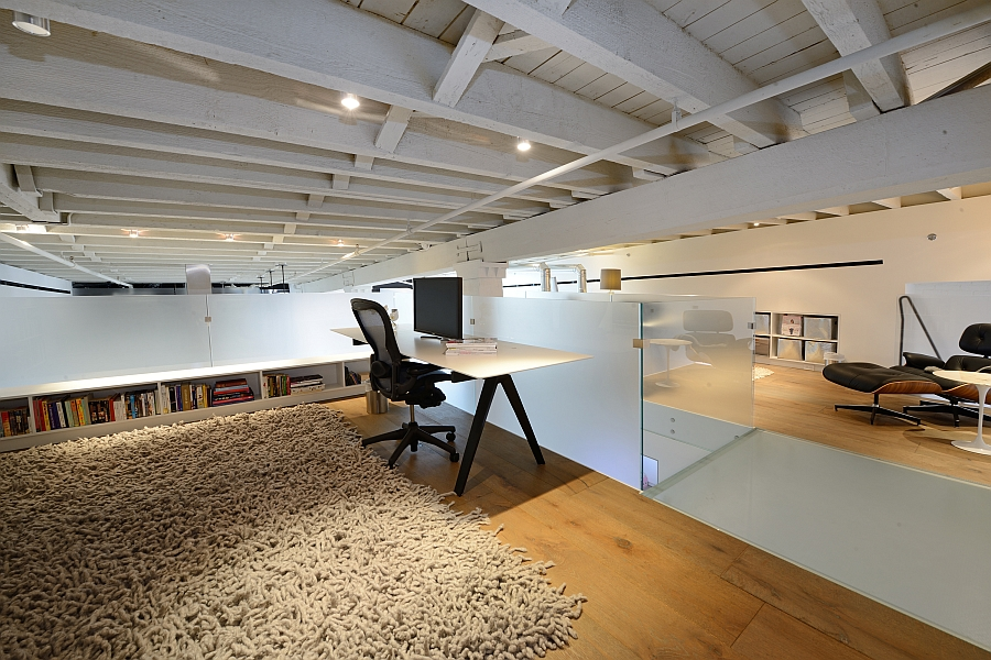 Smart usage of space to shape unique home offices