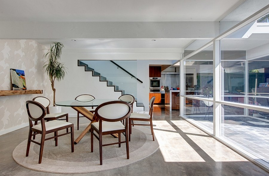 Two Story Mid-Century Home Gets Fancy Remodel