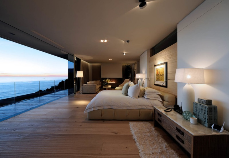 10 modern bedrooms with an ocean view for Modern master bedroom designs 2014