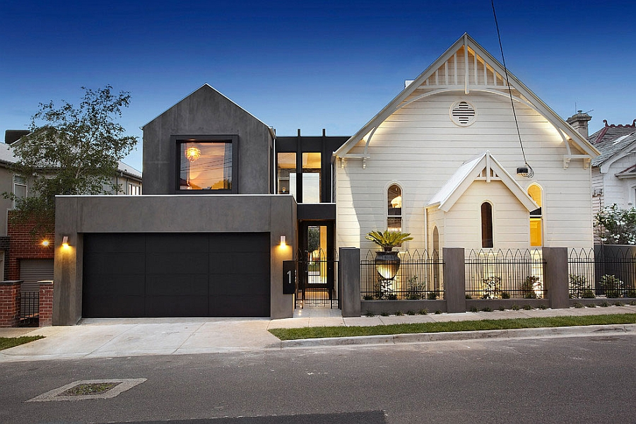 Street view of the church home in Melbourne