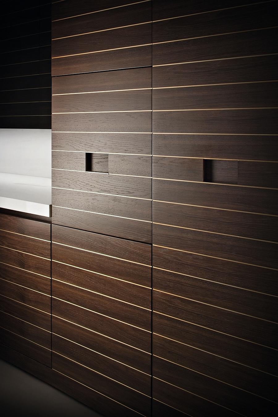 Stunning modern kitchen from Armani & Dada with sleek minimalism