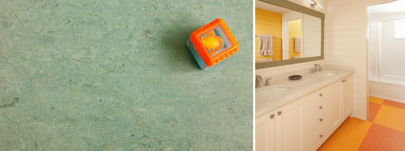 Stylish linoleum options