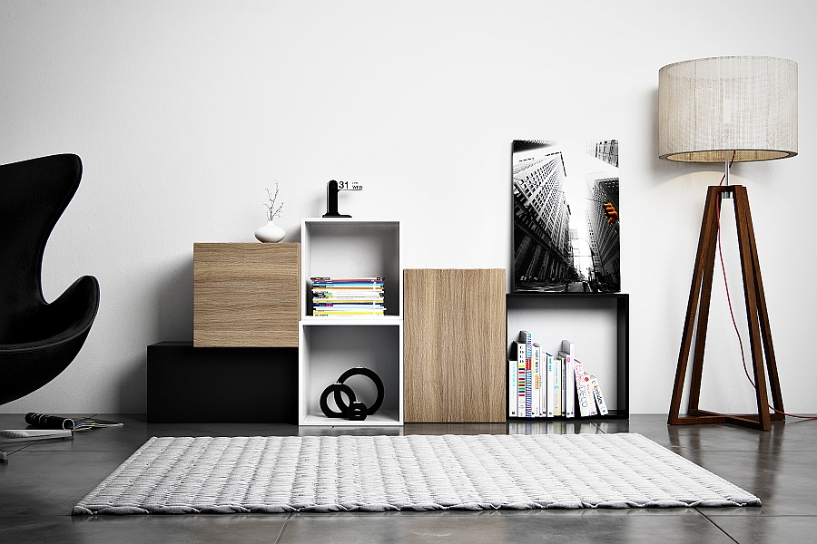 TETREES Play Tetris With Modular Wall Shelves And Cabinets