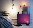 TETREES modular furniture used as a smart nightstand in the bedroom
