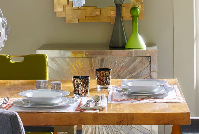 Table setting by Jonathan Adler