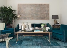 Overdyed and Persian Rugs That Bring Color to Any Room