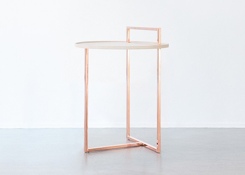 The Orbit side table from Anny Wang