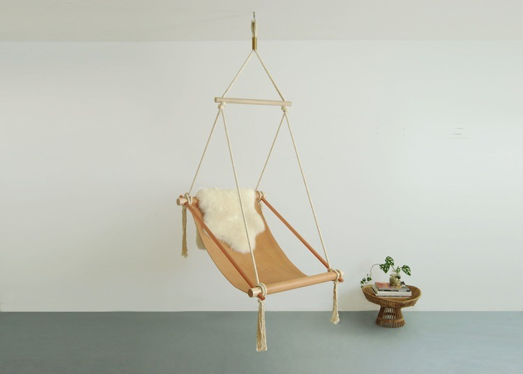 The Ovis Hanging Chair from Ladies & Gentlemen Studio