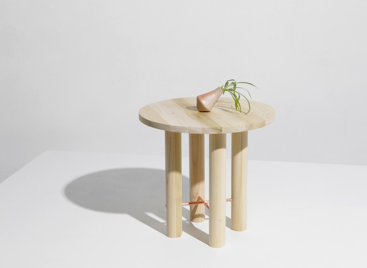 The Ovis Side Table from L&G Studio