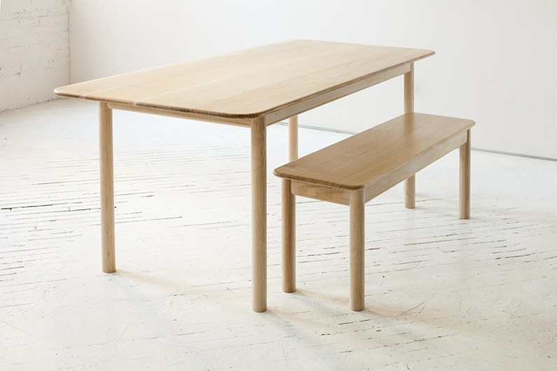 The Range Table and Bench by Fort Standard