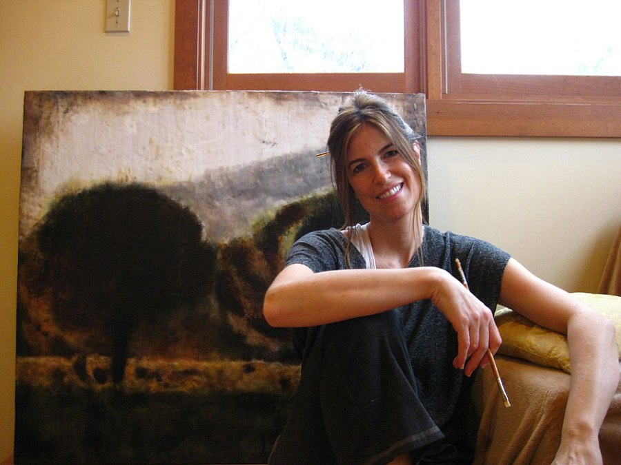 Theresa Stirling Photo Encaustics artist Talking Photo Encaustics, Art And Interiors With Theresa Stirling [Part 2]