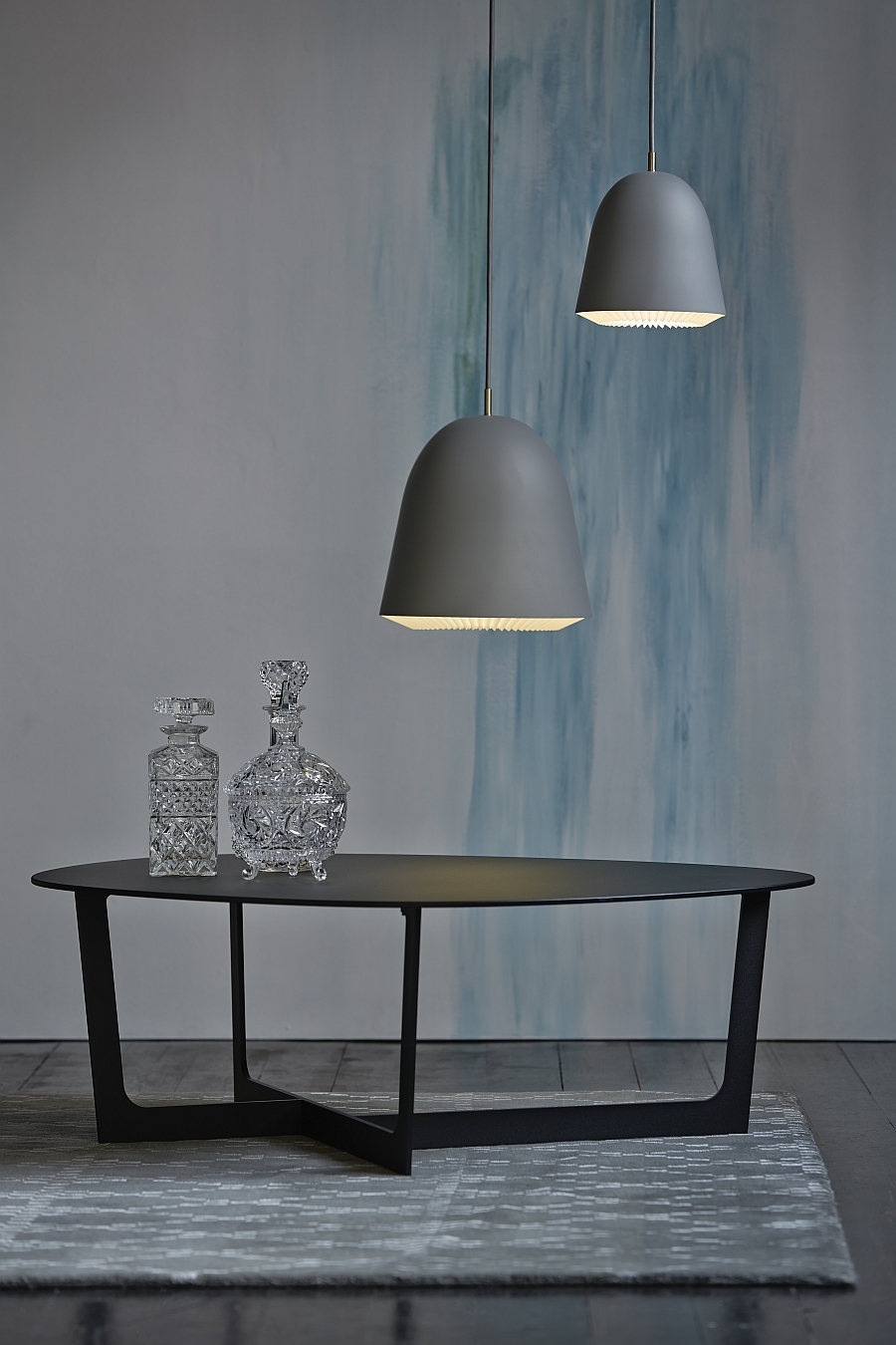 Trendy Cache pendants look great in both contemporary and industrial settings