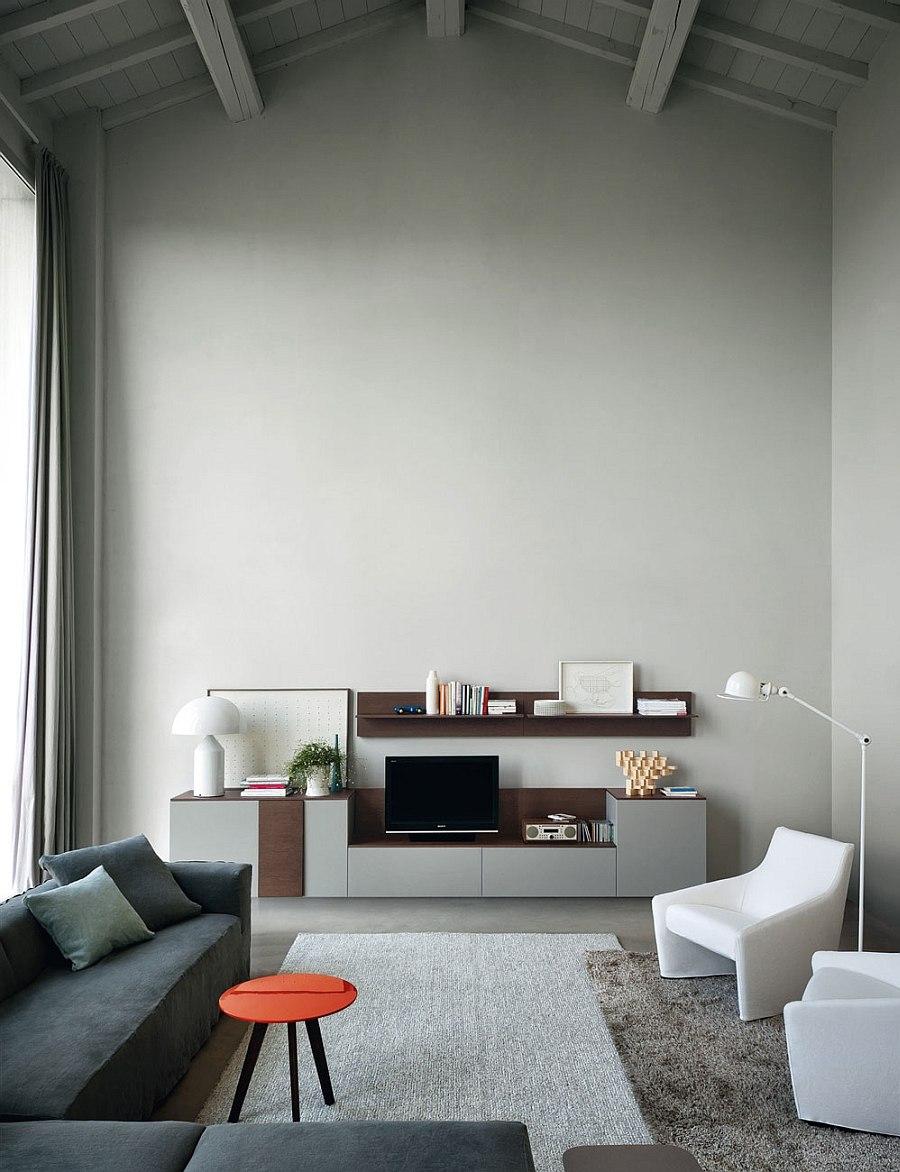 Trendy and modern Haiku armchairs in white