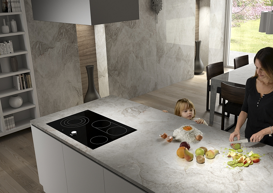 Versatile natural stone finishes from Antolini promote a happy, healthy lifetsyle