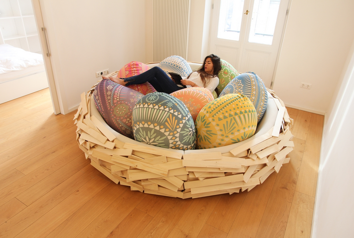birds nest bed 3 8 Whimsical Home Furnishings That Will Make You Smile