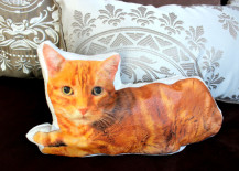 diy, diy cat pillow, cat crafts, pet pillow, diy projects, diy design, recycled materials, interior design, diy decor