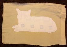 diy, diy cat pillow, cat crafts, pet pillow, diy projects, diy design, recycled materials, interior design, diy decor