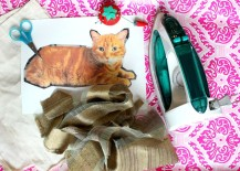 diy cat pillow materials 217x155 DIY: How to Make a Cute Customized Pillow That Looks Just Like Your Cat