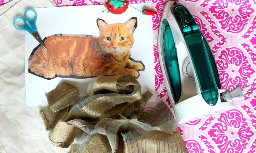 DIY: How to Make a Cute Customized Pillow That Looks Just Like Your Cat