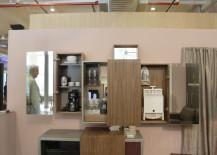 compact bars, bar carts, wall mounted bars, bars for small spaces