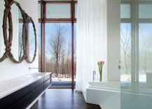 house in the woods 217x155 8 Inspirational Bathrooms That Will Blow You Out Of The Water With Their Designs