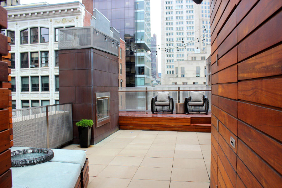 manhattan penthouse, flatiron penthouse, Stradivarius Violin home, nyc apartments, dream homes, penthouse apartment, rooftop garden, rooftop deck, charles rose architects, joshua bell
