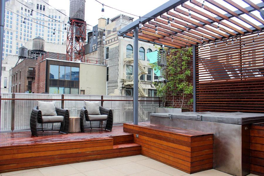 Harmonious Manhattan Penthouse Inspired By A Stradivarius