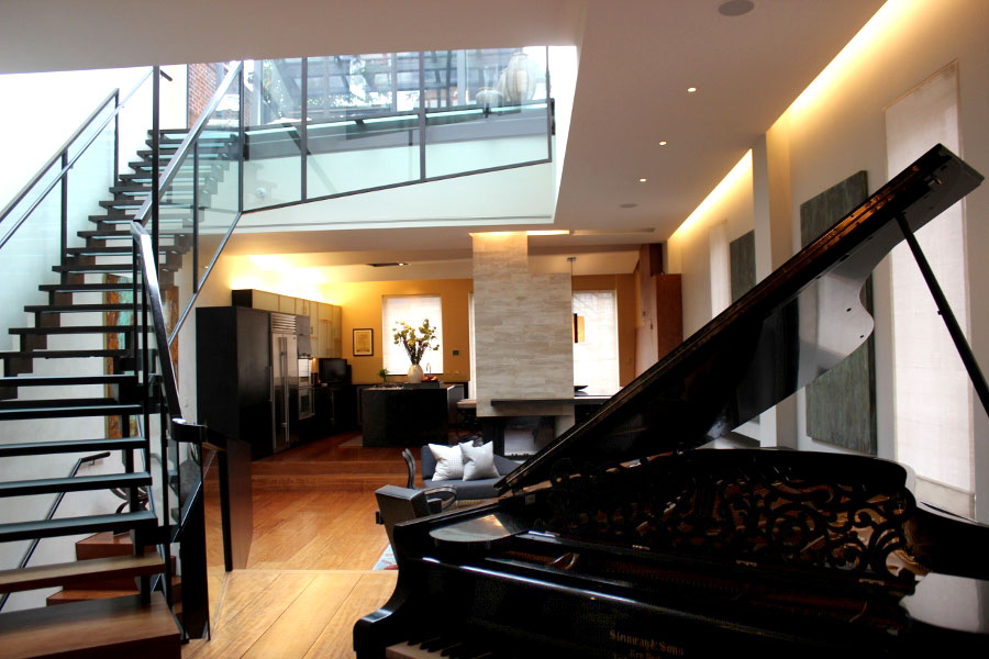 Harmonious Manhattan Penthouse Inspired By A Stradivarius