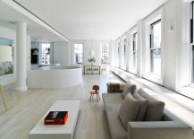 kate wadia, daniel wadia, wadia residence, fifth avenue apartment, duplex, duplex apartment, nyc apartment, nyc duplex, white color scheme, modern homes, modern decor, Resolution: 4 Architecture