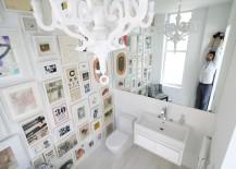 kate wadia, daniel wadia, wadia residence, fifth avenue apartment, duplex, duplex apartment, nyc apartment, nyc duplex, white color scheme, modern homes, modern decor, Resolution: 4 Architecture