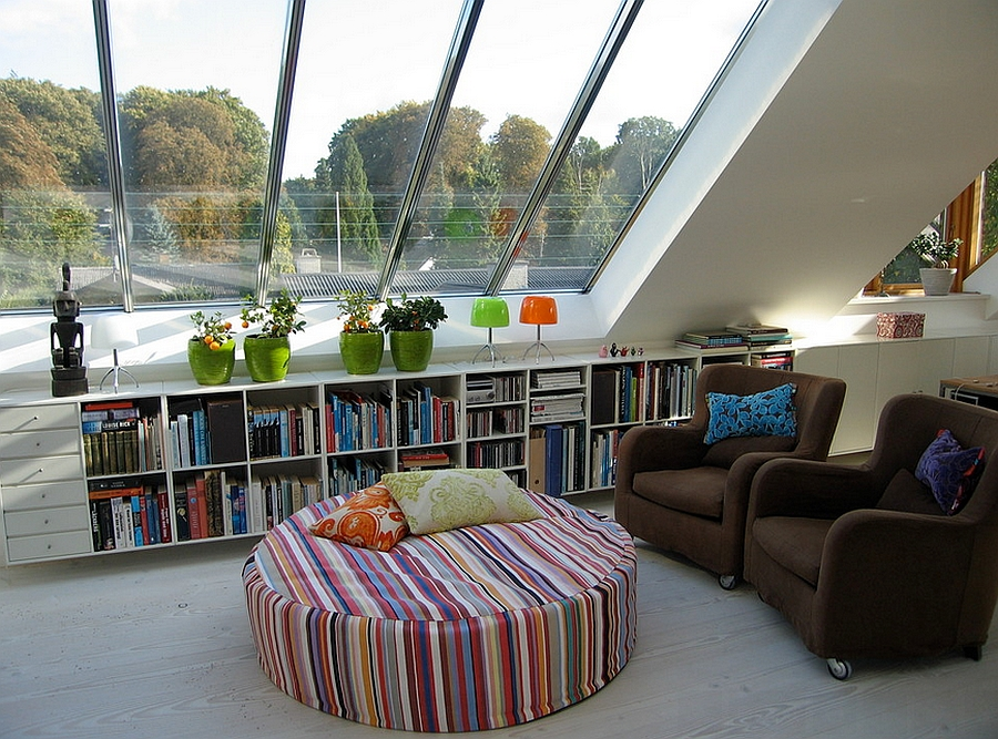A beautiful reading nook away from all the noise [Design: Josina Bergsøe]