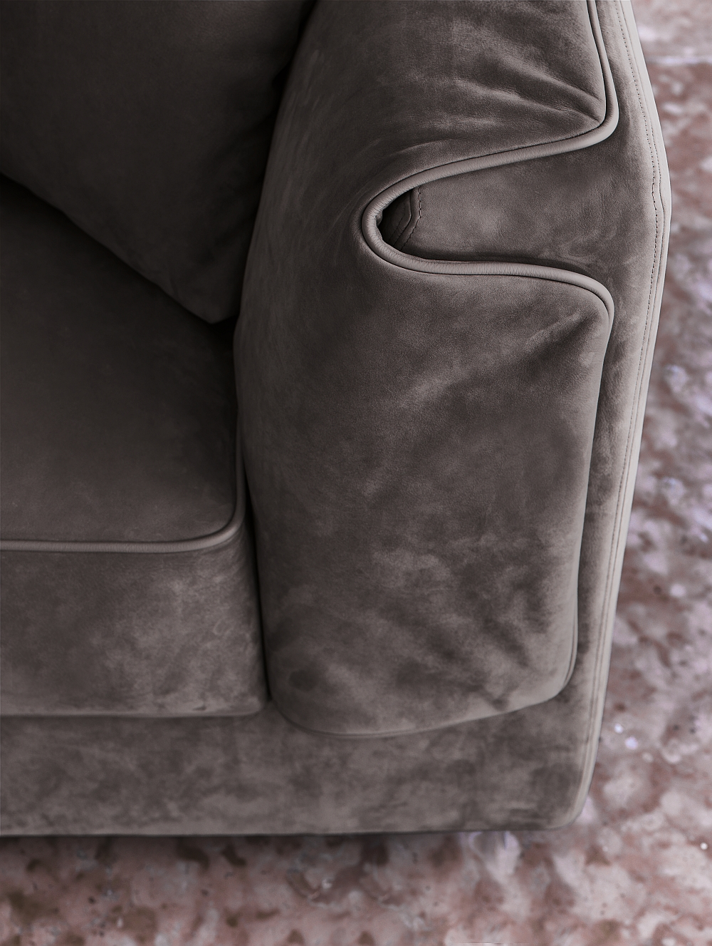 A closer look at the lovely sofa from FLOU