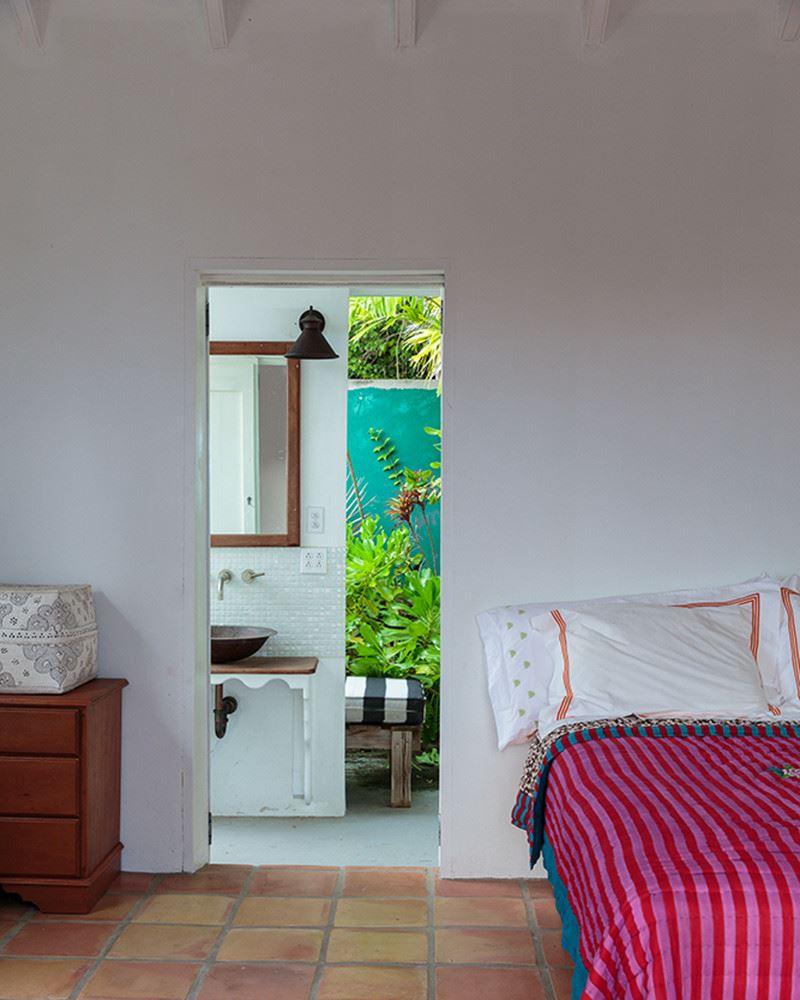 A cottage from Nevis' Golden Rock Inn