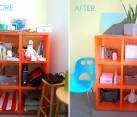 A shelf styling project