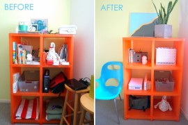 Easy Shelf Organization and Styling Tips