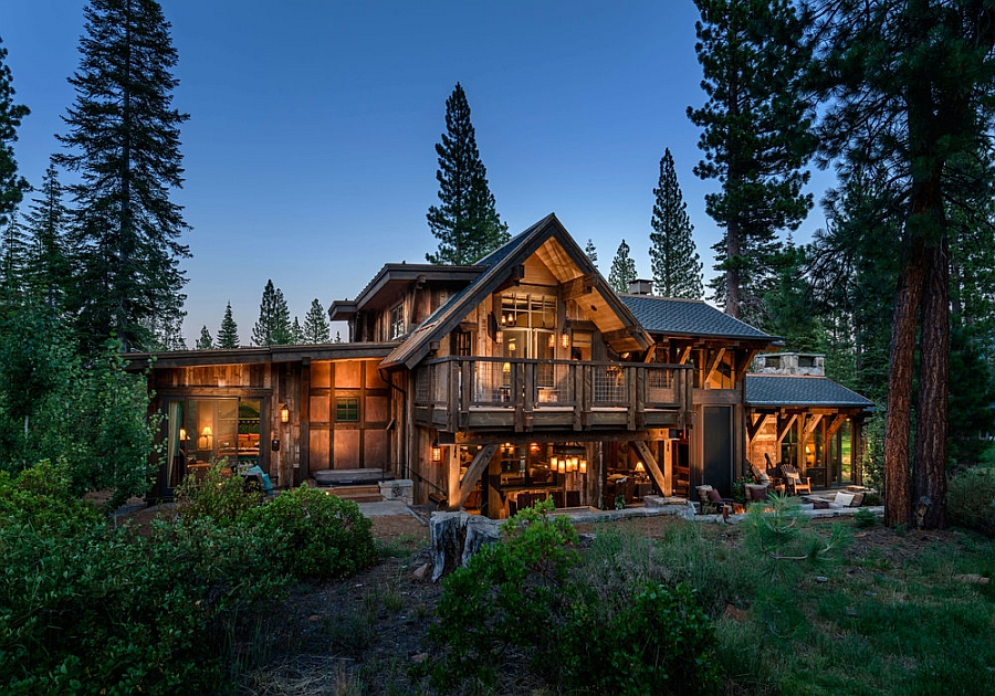Austin Cabin in the Martis Camp development near Lake Tahoe Stunning Cabin Retreat Brings Rustic Texan Charm to Lake Tahoe