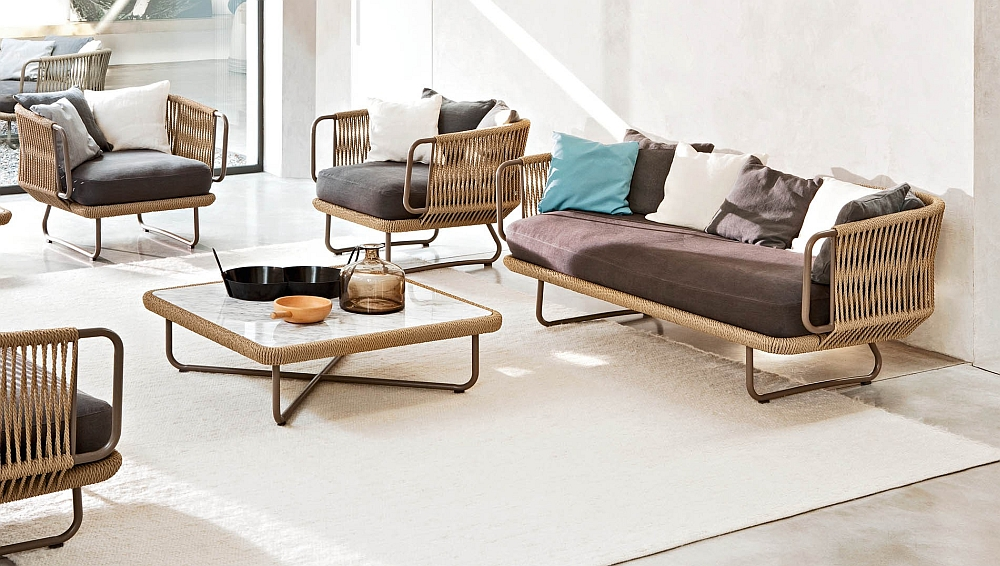 Babylon Sofa with scatter cushions