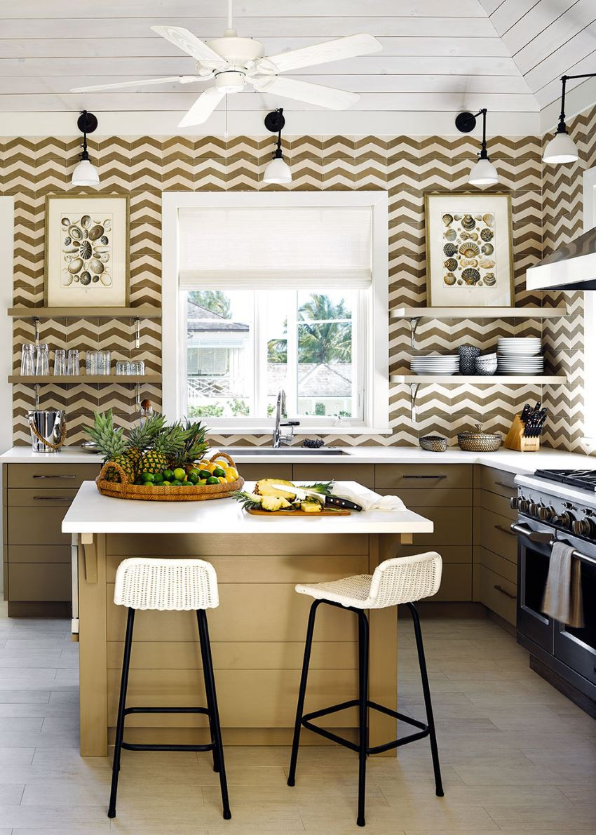 10 Sparkling Kitchens With Open Shelving,Price Tops Gold Earrings Designs For Daily Use