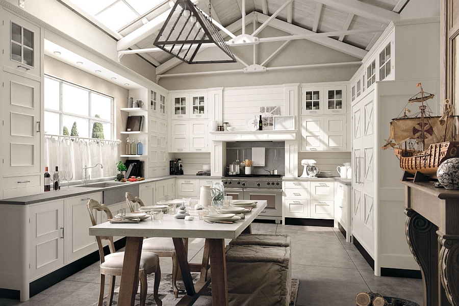Beautiful kitchen that is much more than a cooking area