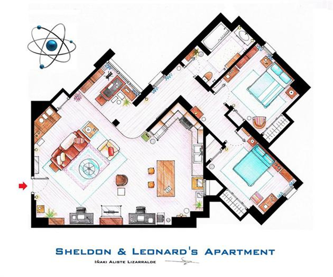 Big-Bang-Theory-Floorplan