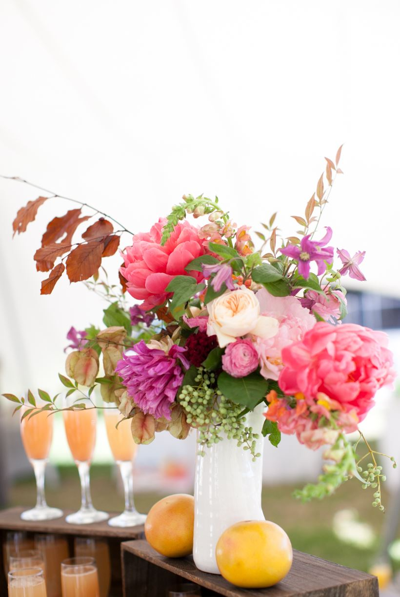 Blooms by Bricolage Florals, and bellinis!