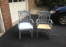 Chinoiserie Chair Before