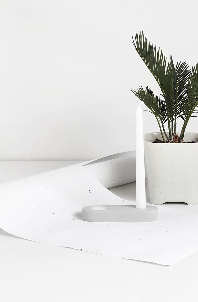 Clay candle holder from MyDubio