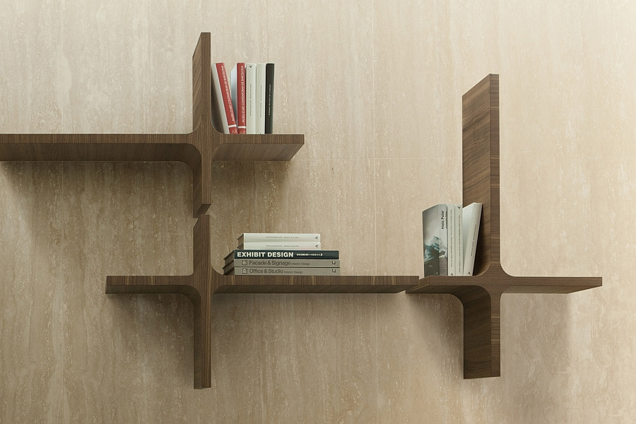 Clean and simple design of the Milo Bookshelf