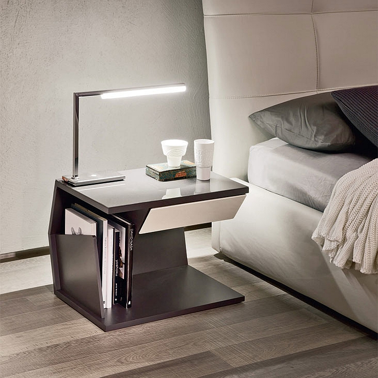 Ordinary Creative Nightstand Ideas Part - 13: View In Gallery Club Nightstand From Cattelan Italia