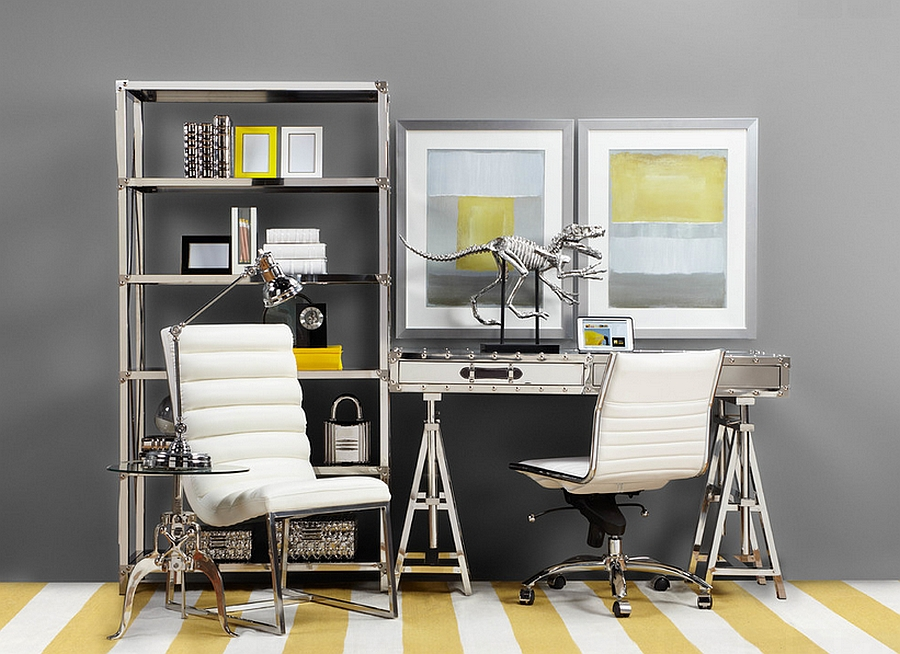 Craft a unique and stylish home office [Design: Z Gallerie]