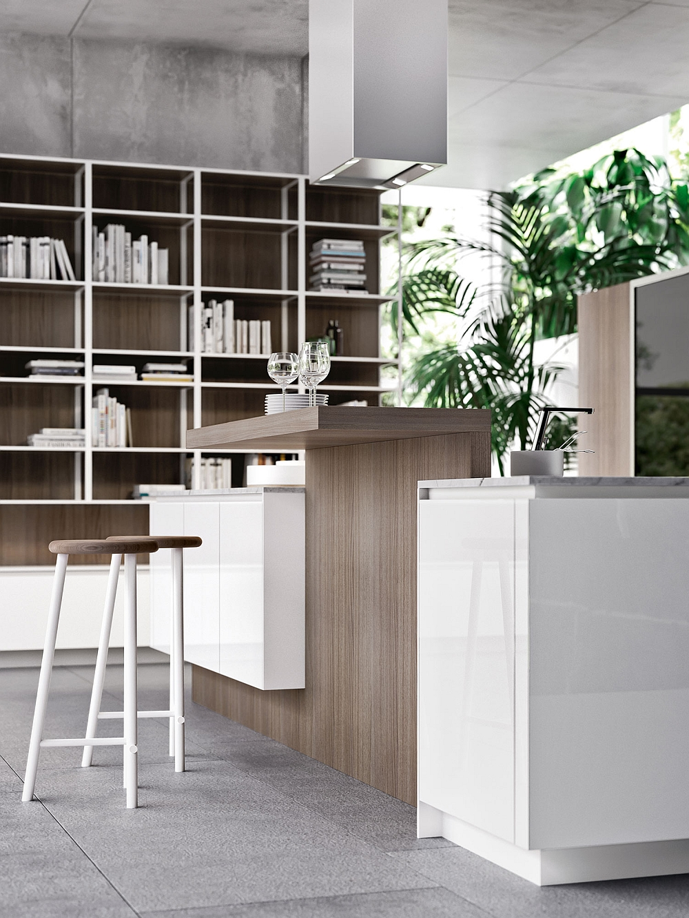 Creative design solutions give the WAY Kitchen plenty of adaptability