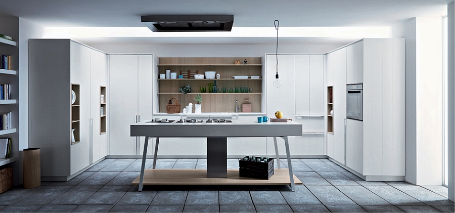 Creative island design for the contemporary kitchen